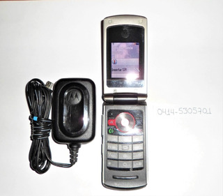 Telefono Celular Motorola Modelo W396 Excelente Estado