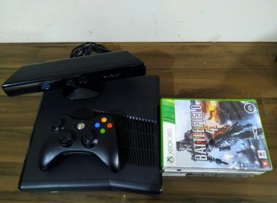 Xbox 360 250gb 7 Jogos Originais Inclusos