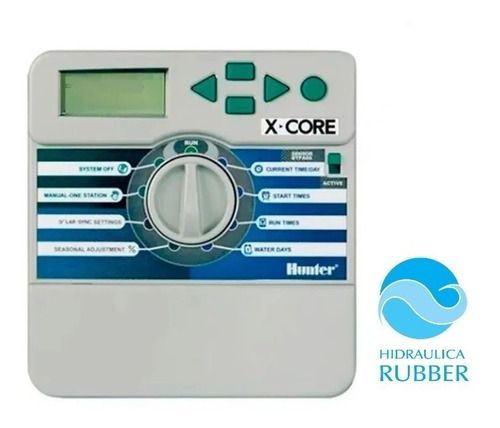 Imagen 1 de 6 de Kit Automatización Riego Hunter Hidraulica Rubber