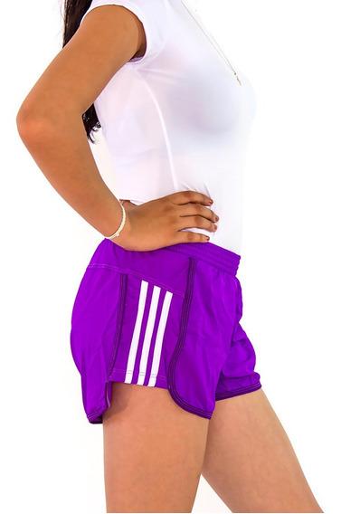 Short Deportivo Mujer Gym Sport Playa Licra Corto Dama 09