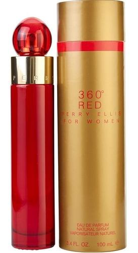 Perfume Original 360 Red De Perry Elli - mL a $1299
