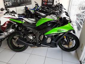 Kawasaki Ninja Zx10r Abs 2014, Aceito Troca E Financio