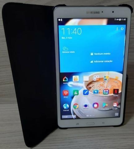 Tablet Samsung 16 Gb Tela 8 Polegadas Com Chip 4g