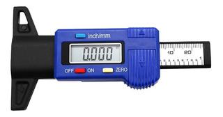 Digital Coche Neumático Pisada Profundidad Ensayador 0-25mm