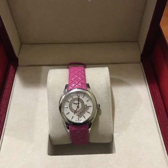 Reloj Para Dama Salvatore Ferragamo Lirica Color Rosa