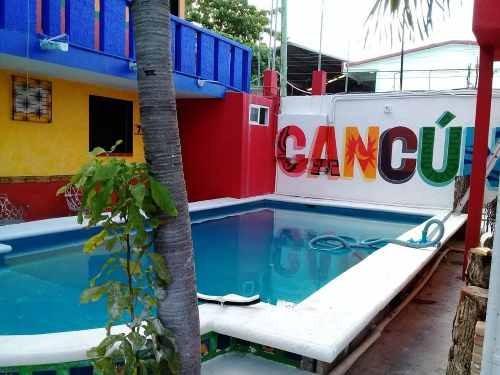 Hotel En Venta En Cancun 20 Cuartos Sm 68