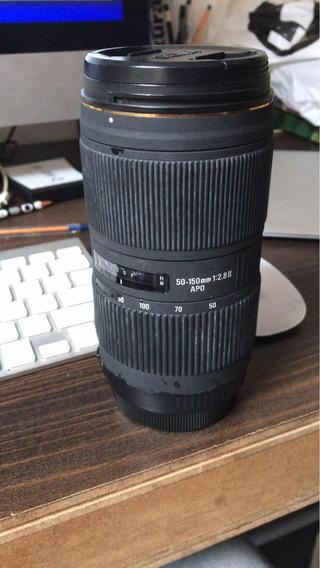 Lente Sigma 50-150mm