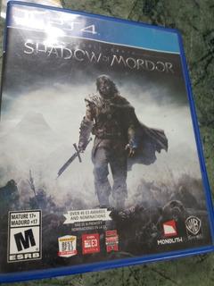 Shadow Of Mordor Ps4 Remato