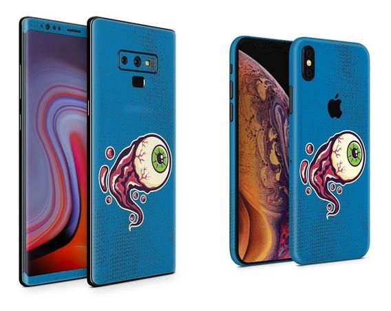 Skin Blue Eye Apple Samsung Huawei Lg Sony Xiaomi Etc