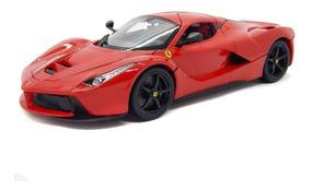 Miniatura Ferrari Laferrari R&p Vermelho 1:18 Bburago