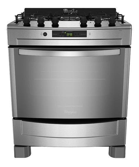 Cocina A Gas Whirlpool Con Grill 76 Cm Wf976xc