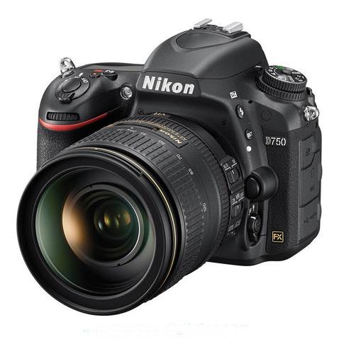 Nikon D750 Fx Con Lente 24-120mm Vr Camara Full Frame Dslr