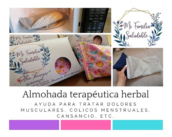 Almohada Terapéutica Herbal