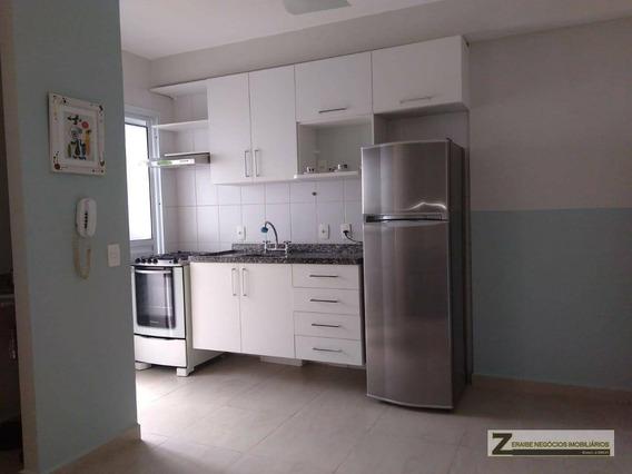 Studio Com 1 Dormitório Para Alugar, 38 M² Por R$ 1.750/mês - Gopoúva - Guarulhos/sp - St0028