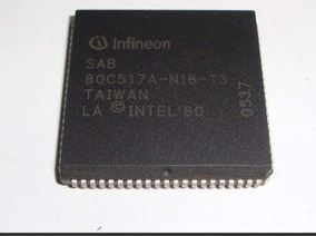 Ircuito Integrado Plcc Sab80c517a-n18-t3 Sab 80c517a-n18-t3