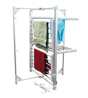 Lcm Modas Hogar 2tier Climatizada Calentador De Secado Rack