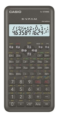 Imagen 1 de 2 de Calculadora Cientifica Casio Fx-570ms Relojesymas