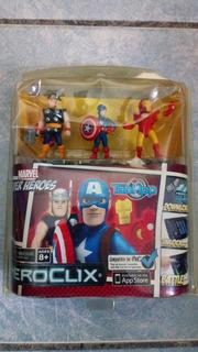 Marvel Super Heroes Heroclix Tabapp Thor Ironman Cap America