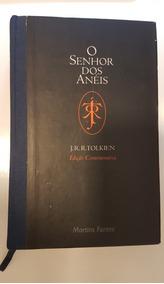 Livro O Senhor Dos Anéis: Edição Comemorativa