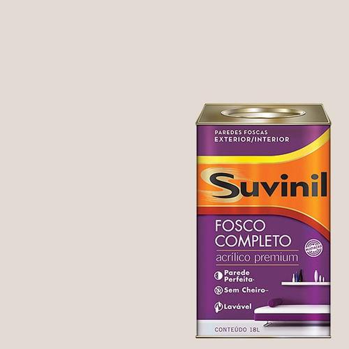 Tinta Acrilica Fosca Premium Suvinil Tiramisu 18lts.