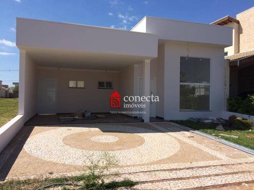 Casa Com 3 Dormitórios À Venda, 179 M² Por R$ 1.050.000,00 - Condomínio Reserva Real - Paulínia/sp - Ca0480
