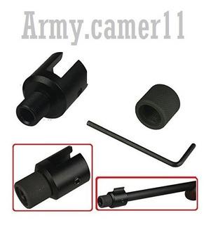 Adaptador Para Rifle Ruger 10/22 Con Rosca 1/2 Accesorios