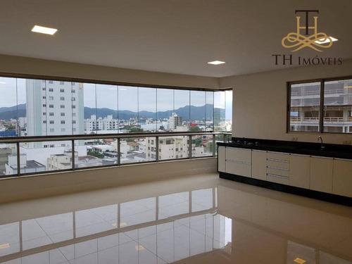 Imagem 1 de 18 de Apartamento Semimobiliado Com 3 Dormitórios, 2 Vagas De Garagem Privativas, No Centro De Balneário Camboriú/sc! - Ap0473