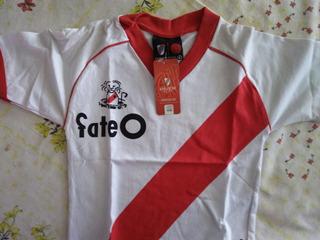 Camiseta Retro Estampada Adulto Legitima River Plate Alonso