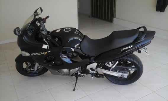 Moto Suzuki Gsx750f 2007 Pouco Rodada