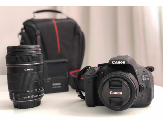 Câmera Canon Eos 600d - A T3i