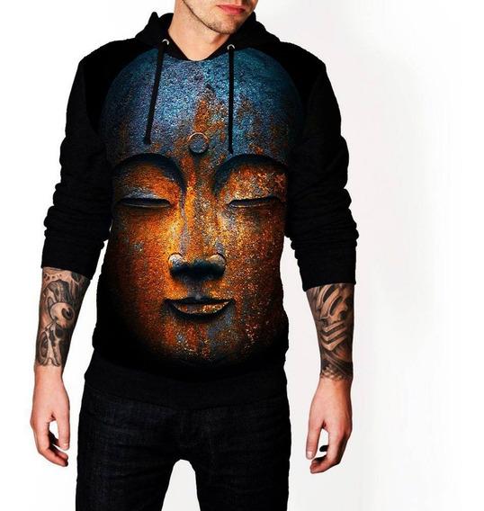 Moletom Masculino Ref 04 Full Print Blusa De Frio Buda