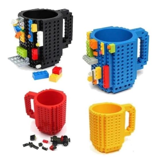 Taza De Encastre Lego Original En Caja (todos Los Colores)