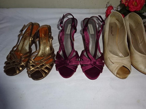 Lote 3 Pçs, Sandálias Shoestock, Capodarte E Sapato 37