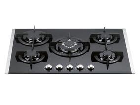 Tope De Cocina A Gas 120v Vidrio Templado 90cm Tecnolam