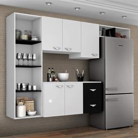 Cozinha Compacta 4 Peças 5 Portas Anabela Siena Ec