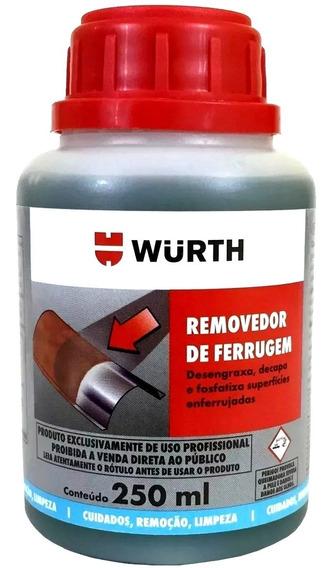 Removedor De Ferrugem Wmax Oxidação, Corrosão Wurth 250ml