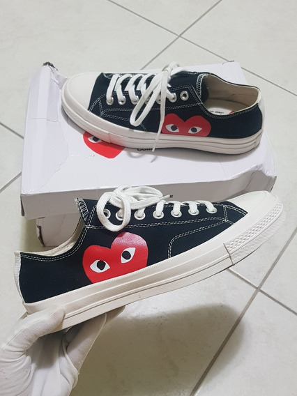 Tenis All Star Converse Play Comme Des Garcons Low Outfit