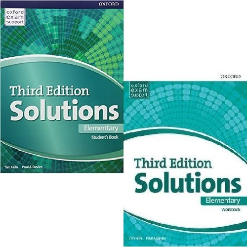 Solutions Elementary - Student´s Book And Workbook