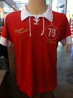Camisa Vermelha Em Homenagem Ao Tri Brasileiro - Inter-rs 79