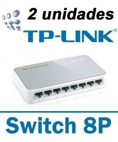 Kit 2 Switch 8 Portas Tp-link Tl-sf1008d 10/100