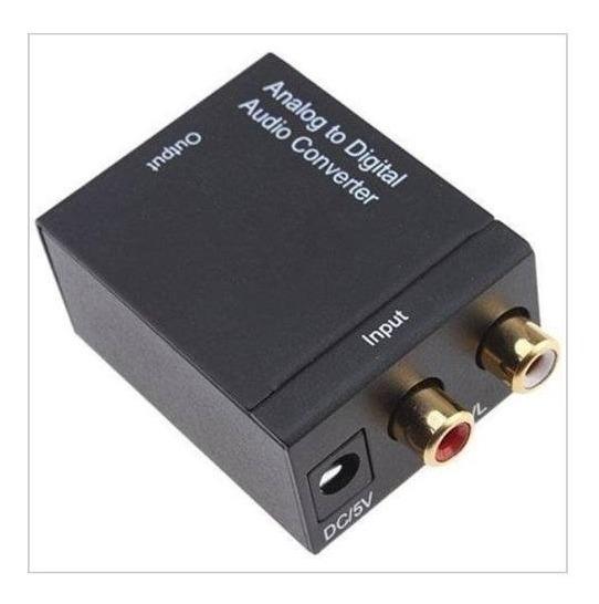 Adaptador Conversor Ótico Toslink E Rca Para Coaxial Digital