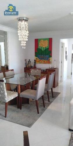 Apartamento Com 3 Dormitórios À Venda, 93 M² Por R$ 630.000,00 - Vila Bastos - Santo André/sp - Ap7367