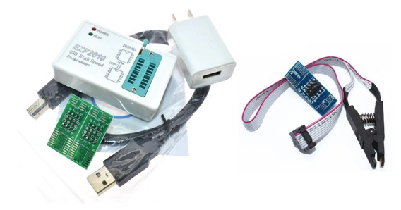 Kit Gravador De Eeprom Ezp2010 High-speed Usb Series