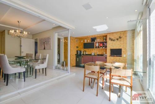 Imagem 1 de 15 de Apartamento Para Venda Em São Paulo, Campo Belo, 3 Dormitórios, 3 Suítes, 5 Banheiros, 4 Vagas - Cabl1095_2-1180424