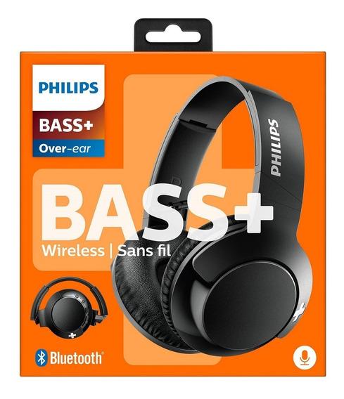 Fone De Ouvido Bluetooth Shb3175b Philips Preto Frete Grátis