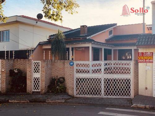 Casa 203m² Com 4 Dormitórios E 2 Vagas - Jardim Santa Mena - Guarulhos/sp - Ca0061