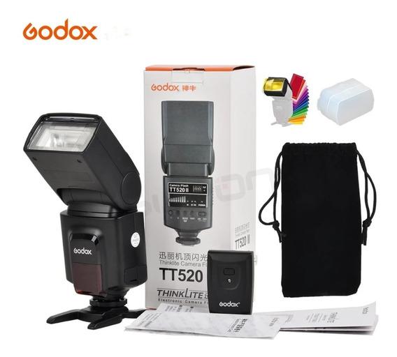 Flash Godox Tt520.com Rádio Flash Embutido .canon/nikon