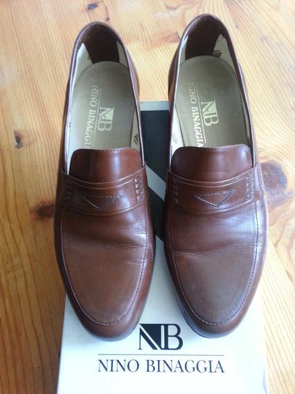 Zapatos Nino Binaggia, Marron, Talla 6