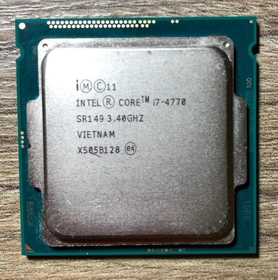 Processador Intel Core I7 4770, 3.4 - 3.9 Ghz Lga 1150