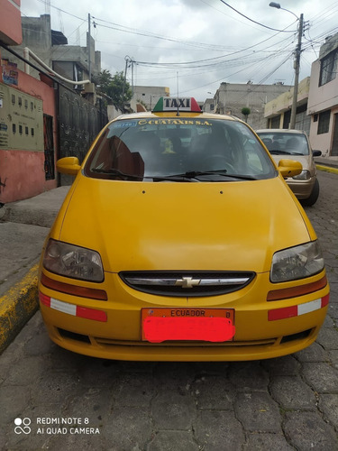 Taxi Legal Chevrolet Aveo 2015
